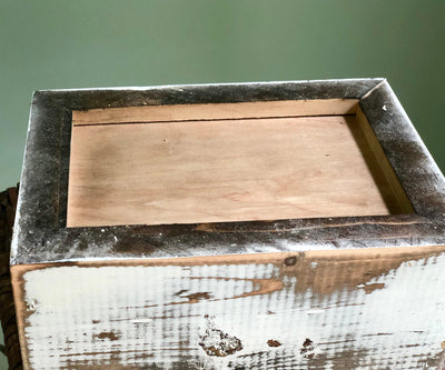The Walton Rustic Farmhouse Distressed Box