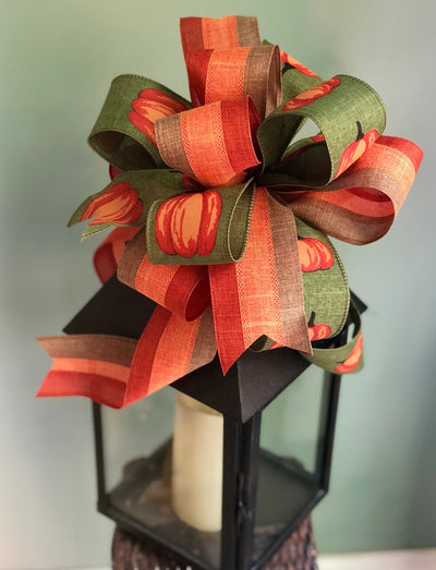 The Bessie Fall Pumpkin Bow