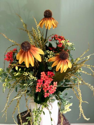 The Hattie Wildflower Centerpiece