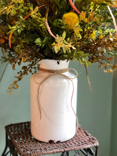 The June Wildflower Farmhouse Centerpiece