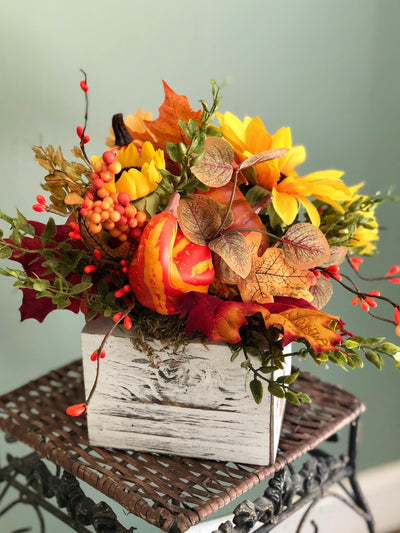 The Andrea Sunflower Accent Centerpiece