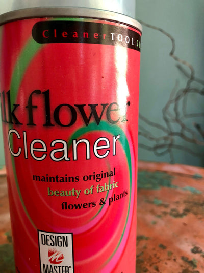 Silk Flower Cleaner Spray~faux floral cleaner