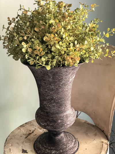 The Kaye Spring Easter Babys Grass Topiary Urn~Centerpiece For Table~French country cottage arrangement~wedding florals~wedding decor