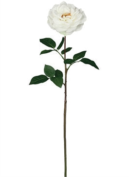 Large Real Touch Open Rose, Artificial Rose, Silk flower, Wedding decor, real look rose