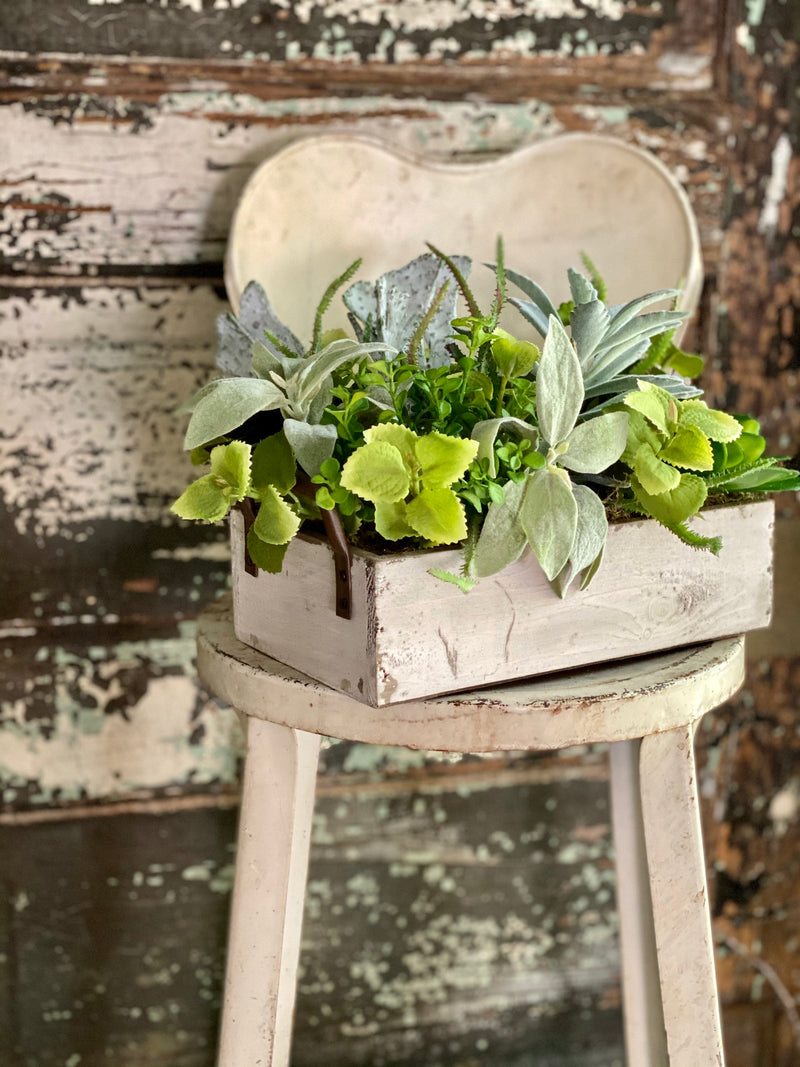 The Addison Succulent Centerpiece For Dining Table, Summer arrangement, year round centerpiece, farmhouse decor, rustic decor