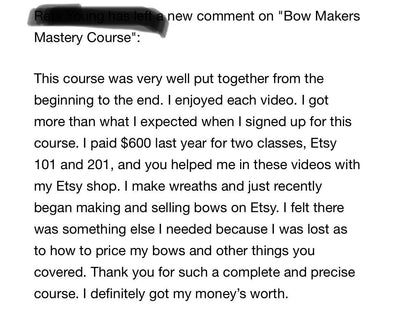 How to make & sell bows on Etsy video tutorial~learn how to make bows~video training~learn to sell bows~Video training~design tutorial