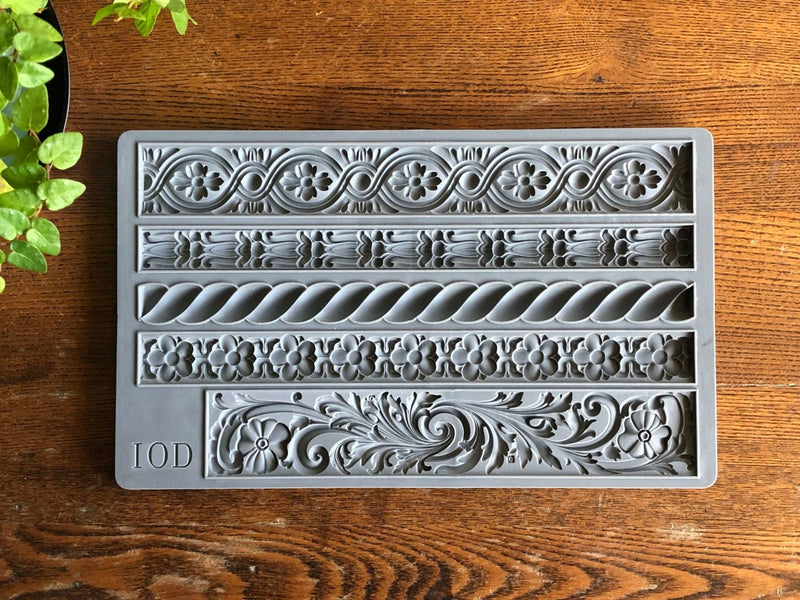 IOD Trimmings 2 Decor Mould, Casting mould for crafts, craft supply, soap mold, resin mold, French country mold, candy mold,