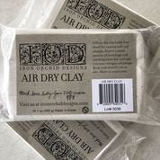 IOD Air Dry Clay, paper clay for crafts, artist grade clay, clay for casting, sculpting medium, craft supply, mould making supply