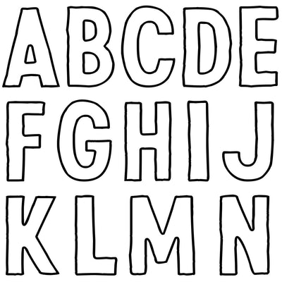 IOD Retro Alphabet Decor Stamp, Stamp for crafts, craft supply, Letters, Card embellishment, alphabet stamp designs, lettering stamp