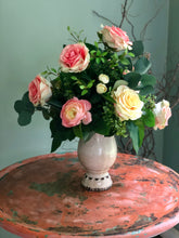 Load image into Gallery viewer, The Lorelei Elegant Rose Vase Arrangement