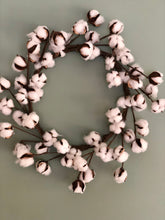 Load image into Gallery viewer, Cotton Boll Wreath Base