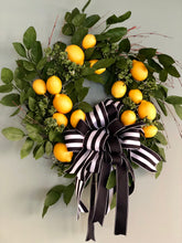 Load image into Gallery viewer, The Laurel Lemon Wreath