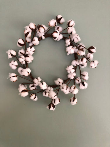 Cotton Boll Wreath Base