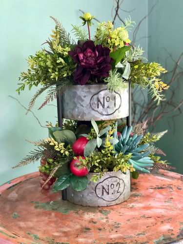 The Ellen Two Tiered Centerpiece