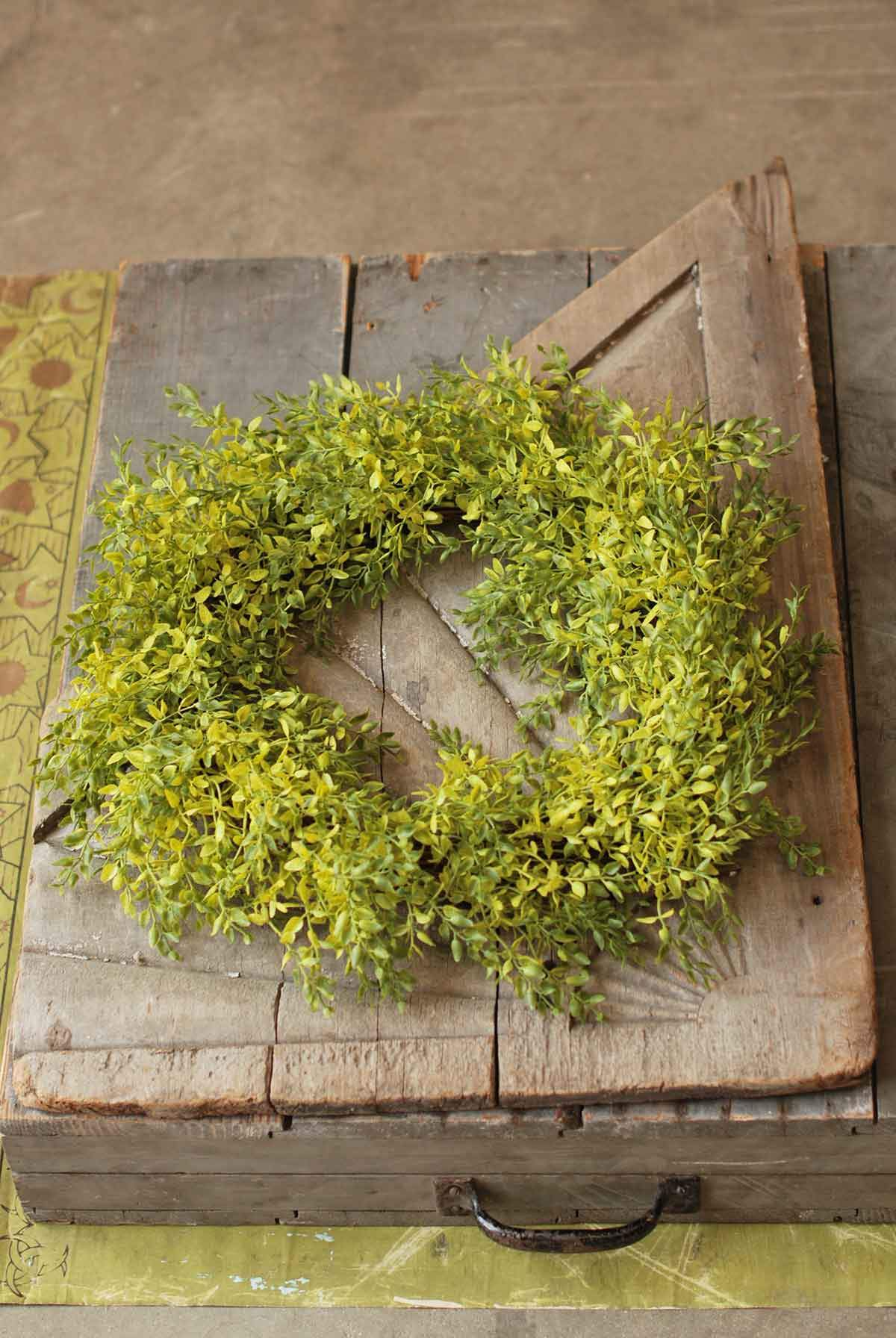 Lemon Beauty Wreath