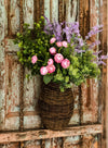 The Barton Cottage Wall Basket