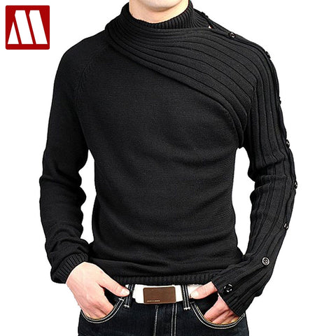 Men's Personality Asymmetric Sleeve sweater