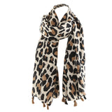 Classical Leopard printing winter shawl
