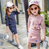 2019 Girls clothes set