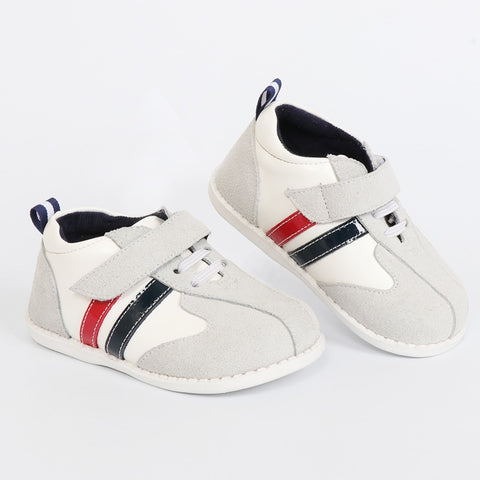 High quality leather kids sneakers