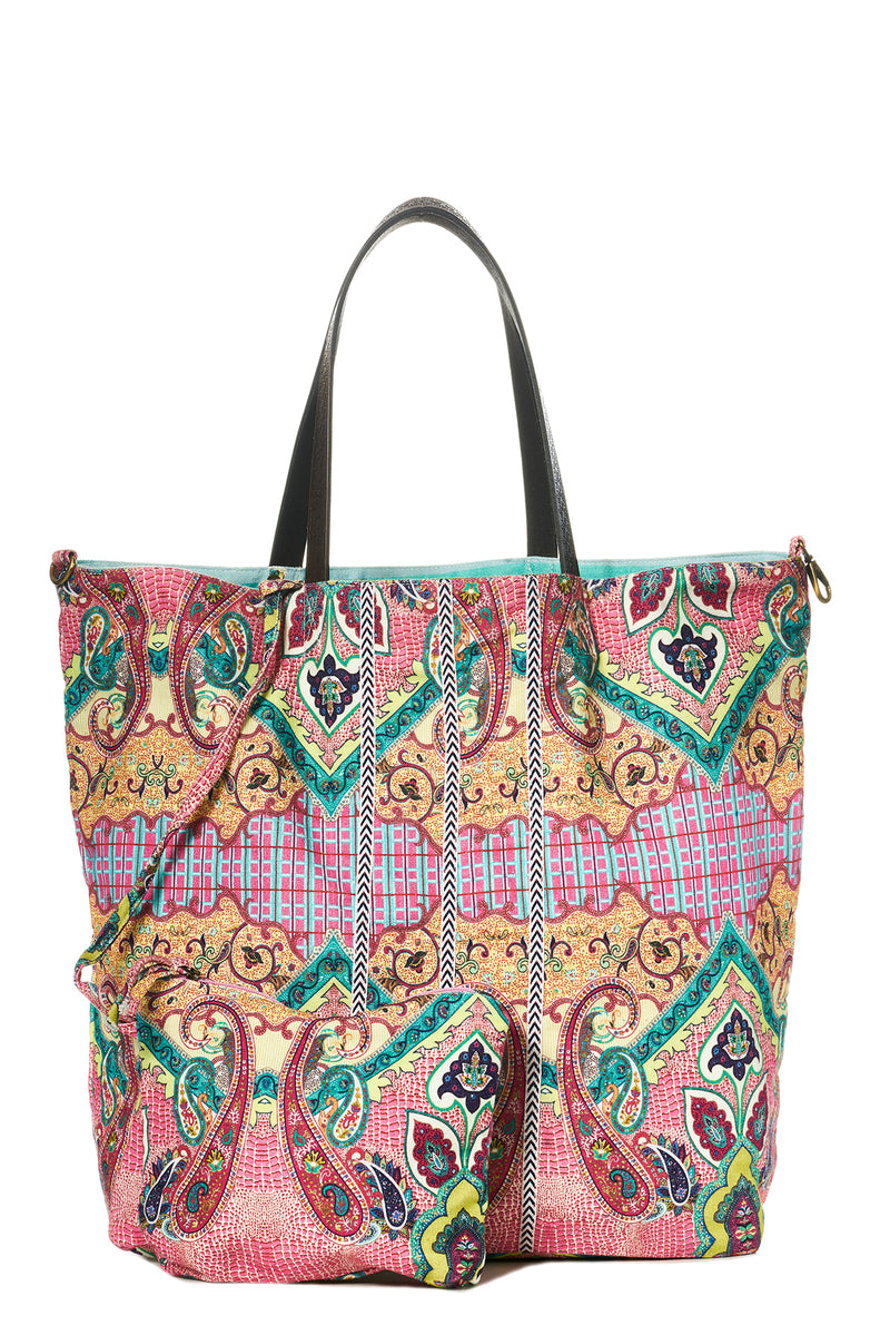 "Canvasshopper ""Lalita"" in Paisley-Pink"