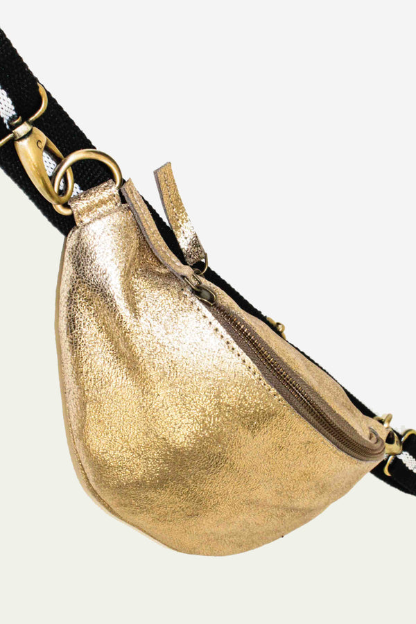 "Beltbag ""Charlie M"" in gold"
