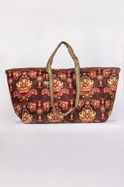 "Canvas Shopper ""Sven"" mit Paisleymuster"