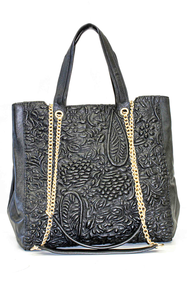 Shopper mit Paisley-Threadfilling