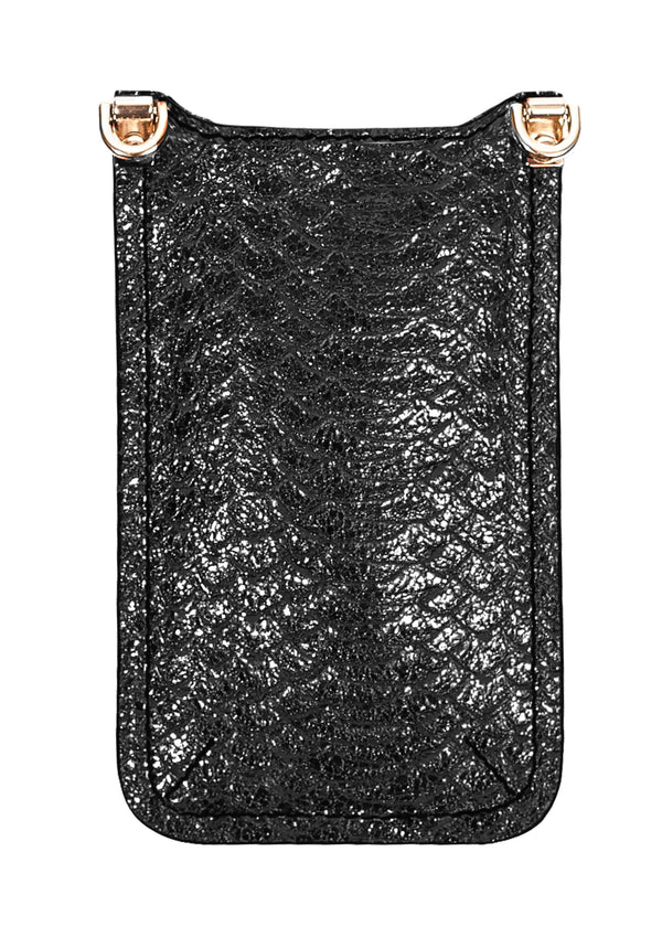 ANOKHI Mobilebag - Black Lizzard