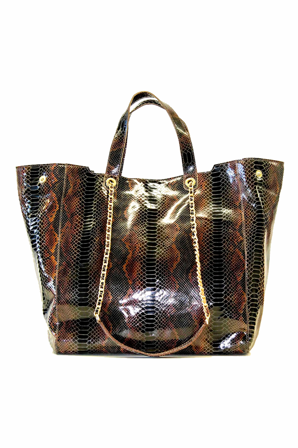 """Ebony"" black Snakeshopper"