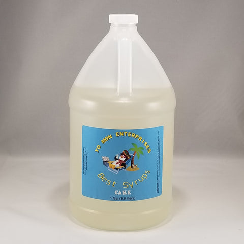 Cake Syrup 1 Gallon - 128 oz