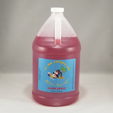 Candy Apple Syrup 1 Gallon - 128 oz