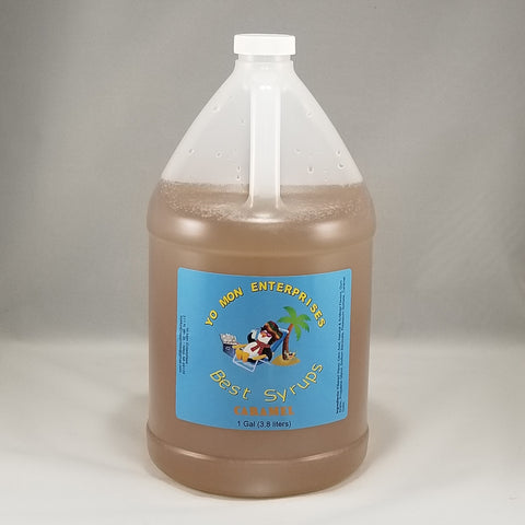 Caramel Syrup 1 Gallon - 128 oz