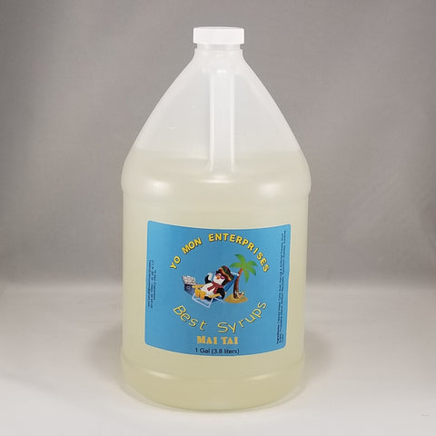 Mai Tai Syrup 1 Gallon - 128 oz