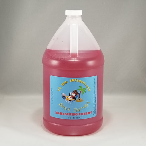 Maraschino Cherry Syrup 1 Gallon - 128 oz