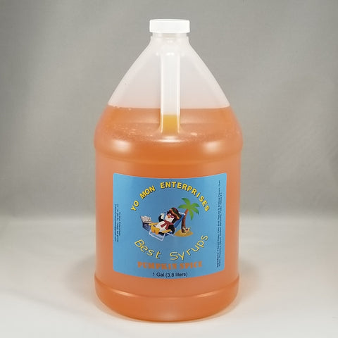 Pumpkin Spice Syrup 1 Gallon - 128 oz