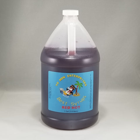 Red Hot  Syrup 1 Gallon - 128 oz