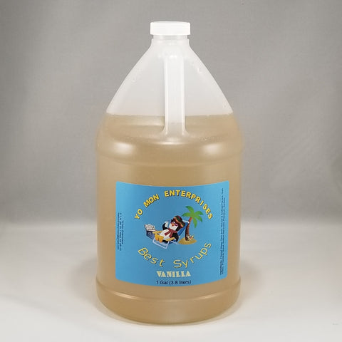 Vanilla Syrup 1 Gallon - 128 oz