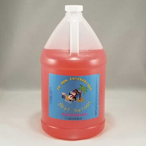 Watermelon Syrup 1 Gallon - 128 oz