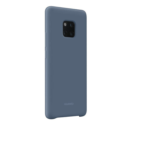 Huawei Mate 20 Pro, Silicone Cover, Ljusblå
