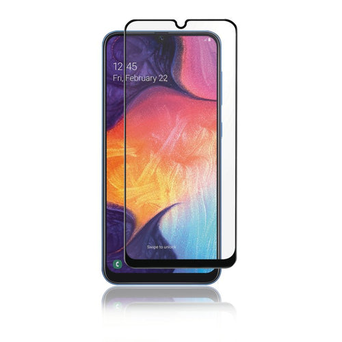 Panzer Samsung Galaxy A50, Full-Fit Glass, svart