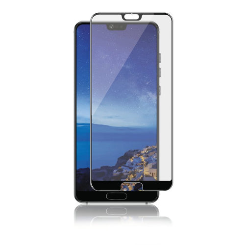 Panzer Huawei P20, Curved Glass, Black