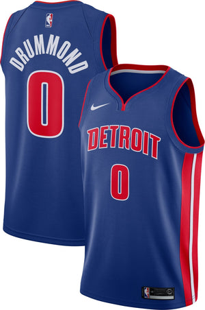 Andre Drummond Pistons Jersey