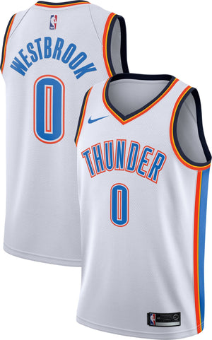Russell Westbrook Thunder Jersey