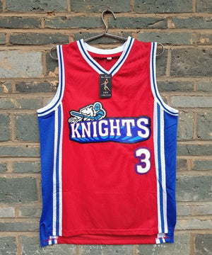 Like Mike Movie Knights #3 Calvin Cambridge Knights Basketball Jersey - Certified Jersey