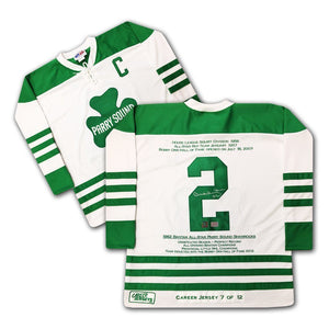 Bobby Orr Parry Sound Shamrocks Hockey Jersey