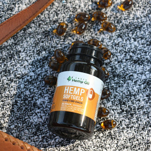 Hemp Oil Softgels - Organic!