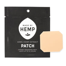 Load image into Gallery viewer, CBD Hemp Extract Patch (40mg)-Made by Hemp
