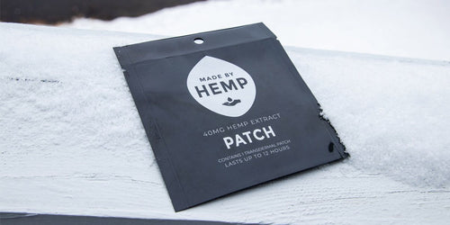 CBD Hemp Extract Patch (40mg)-Made by Hemp