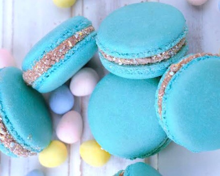 Macaron's!  Yummy and perfect for kids birthday parties